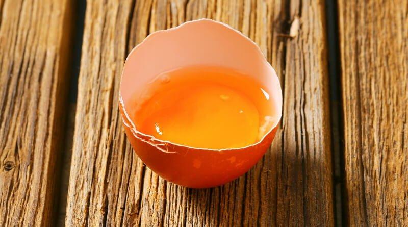 Barva žloutku vajec