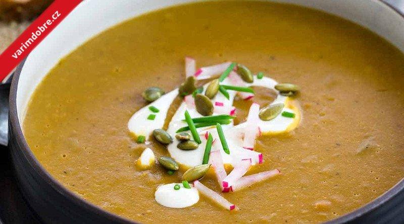 Selská čočková polévka