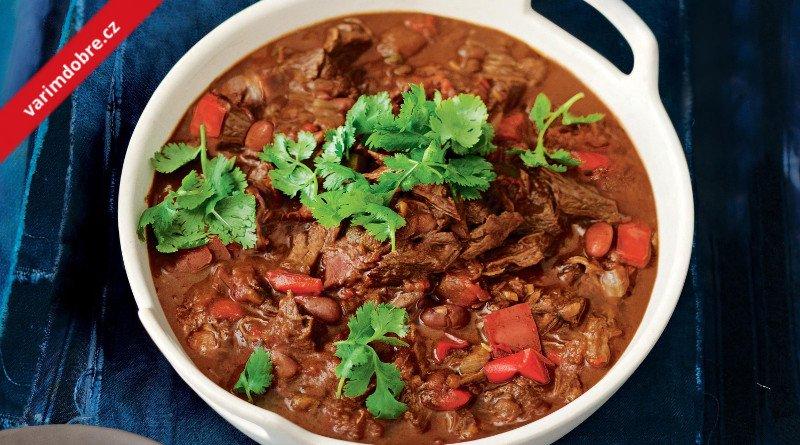 Chilli con carne s vepřovým masem