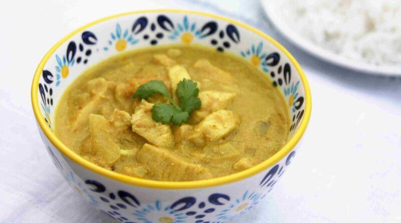 Indická kuřecí polévka