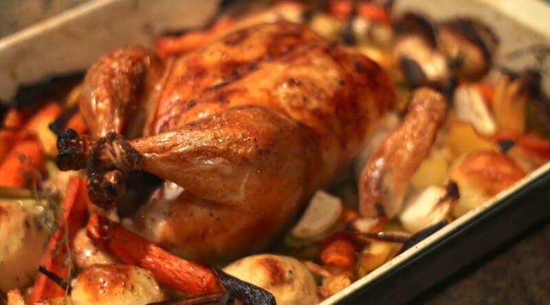Sváteční kuře