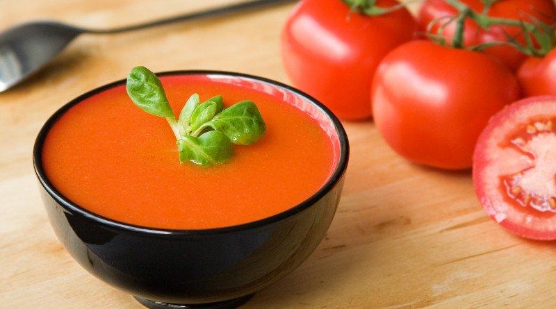 Italská rajská polévka