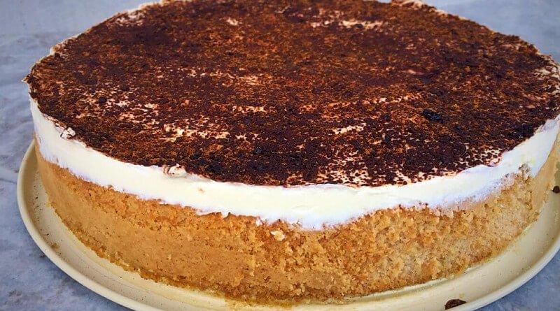Celozrnný dort s pudinkem