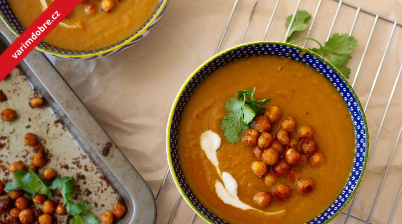 Cizrnovo-bramborová polévka