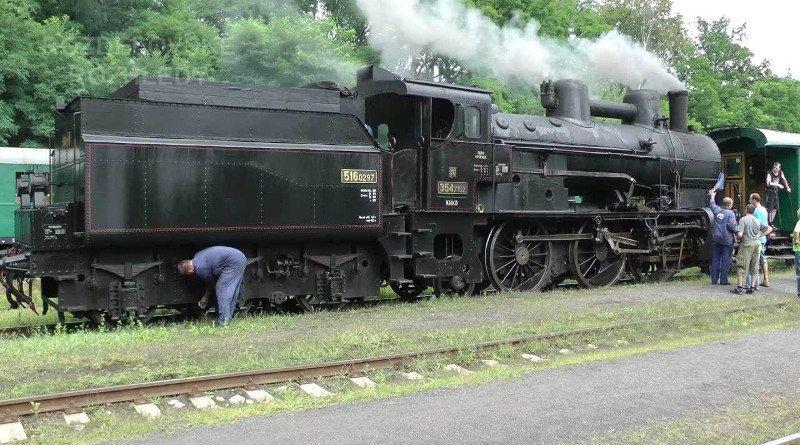 Železniční muzeum Kolešovka